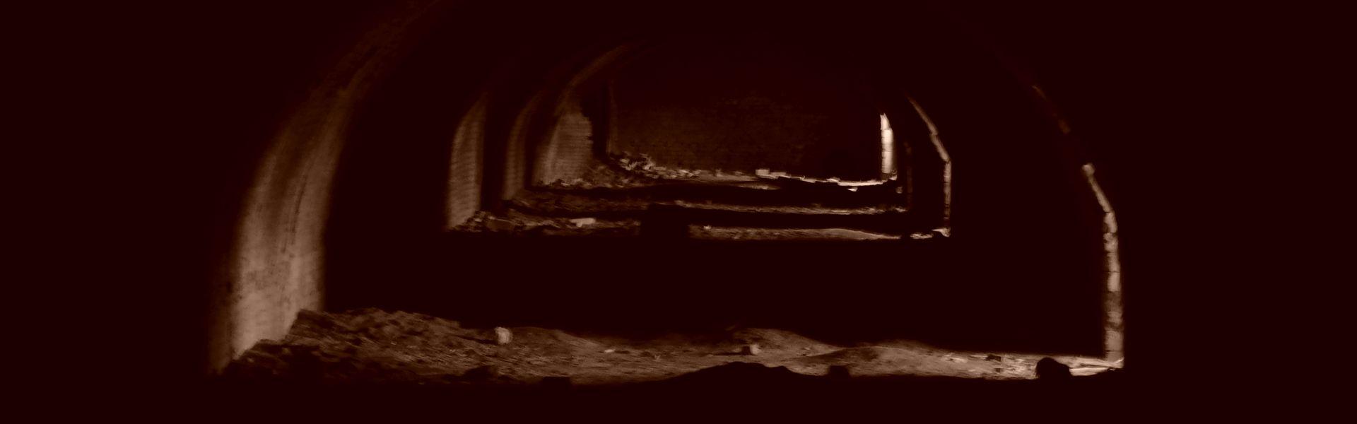 Donkere gewelven bij het versje 'Dapper' van Paul Schrijft