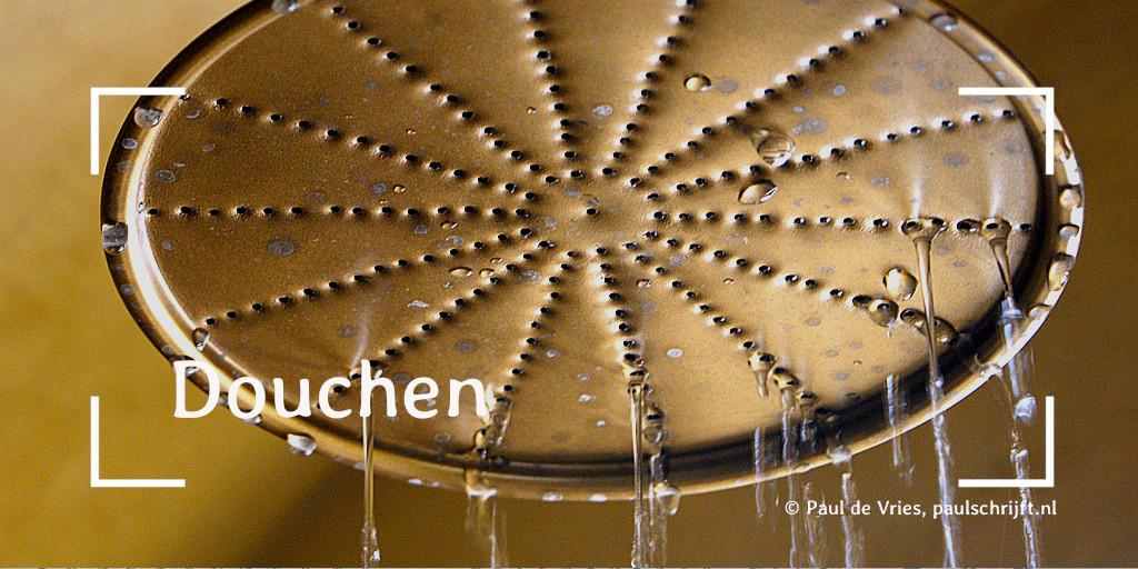 Douchekop bij het versje 'Douchen' van Paul Schrijft. Foto NWY69 op Flick