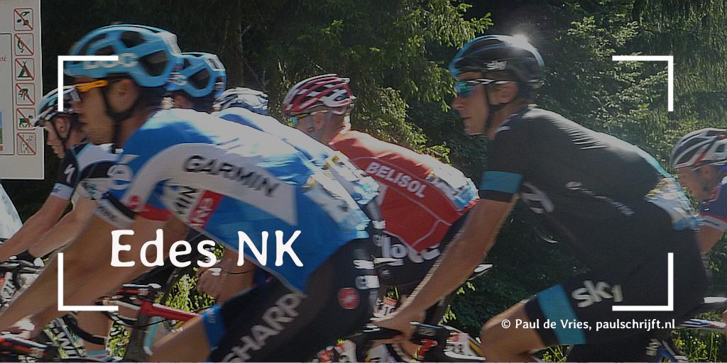 Edes NK Wielrennen bij de column van Paul Schrijft