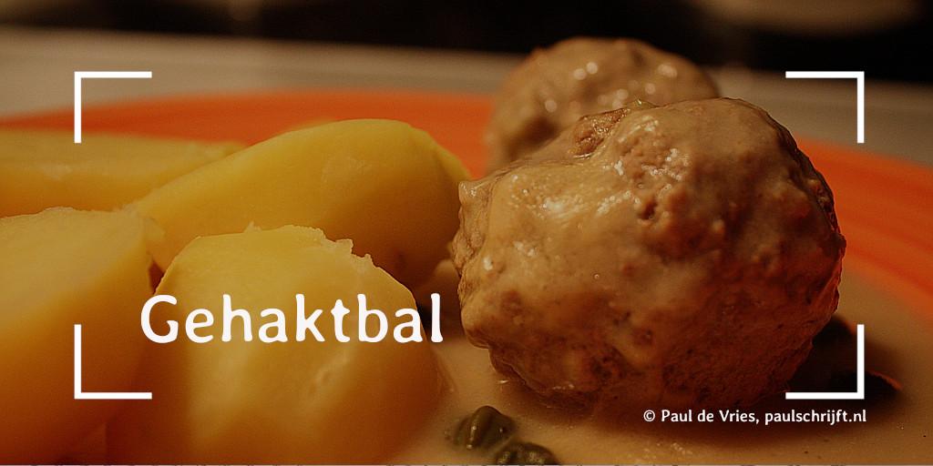 Aardappelen met Gehaktbal (foto: Daniel Baezol Pixabay)