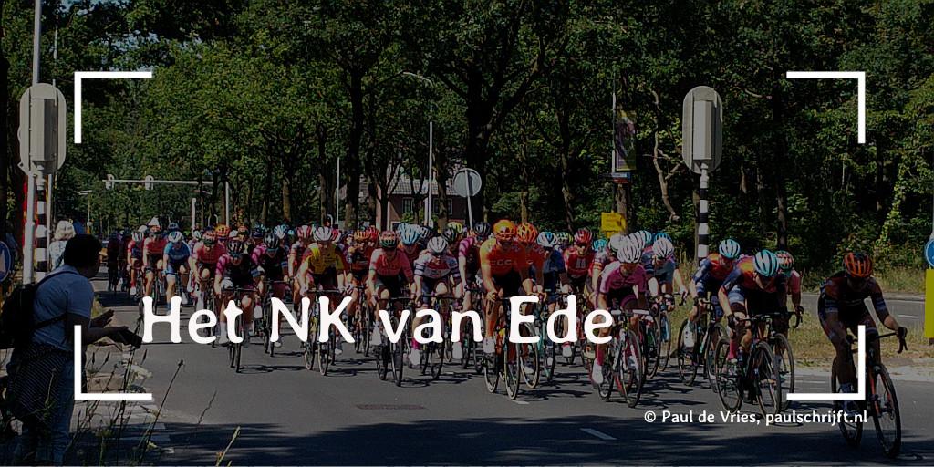 NK Wielrennen 2019 in Ede