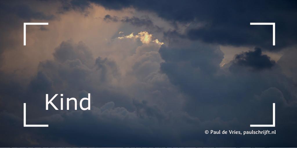 Donkere wolken foto: freenature stock