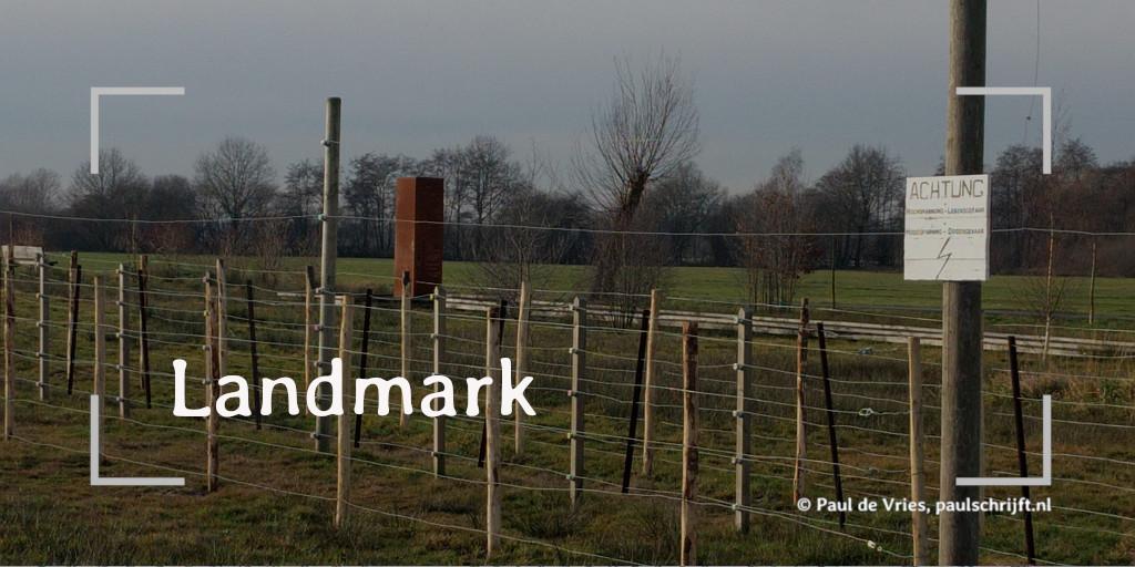 De Dodendraad in Wuustwezel bij de column 'Landmark' van Paul de Vries Schrijft