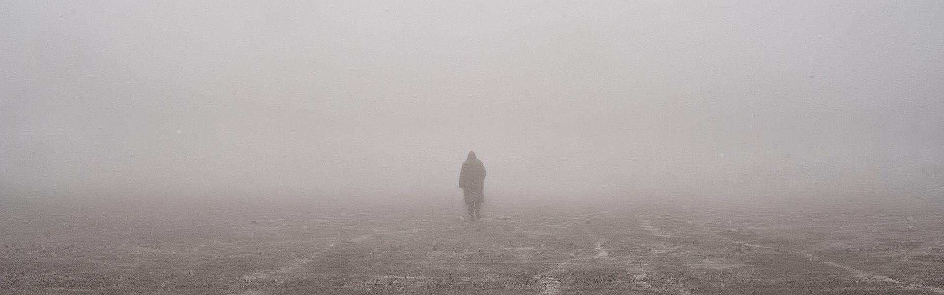 Fog door Jonathan Kos-Read bij het versje 'leegte' van Paul Schrijft