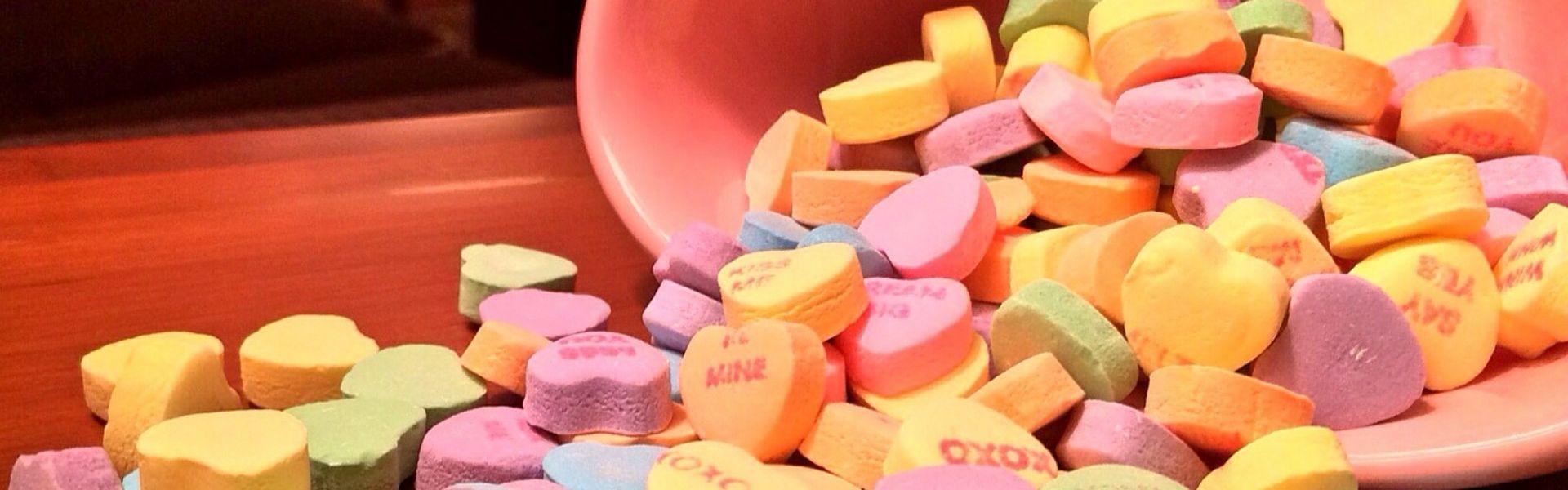 Snoephartjes bij het versje 'Suikerboom' van Paul Schrijft Wokandapix candy-599884_1920